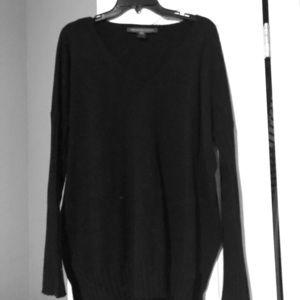 French Connection Black Sweater Size L
